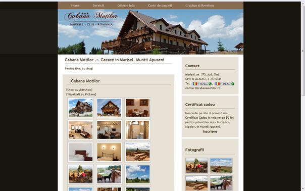 Cabana Motilor (Marisel, Cluj)