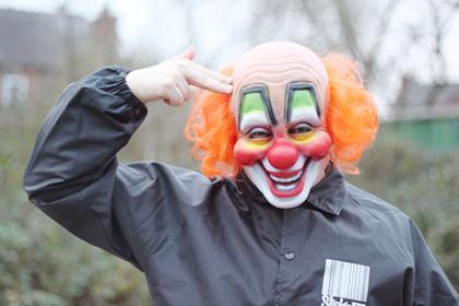 Sursa: http://randomherouk1.deviantart.com/art/Slipknot-Clown-007-199225354